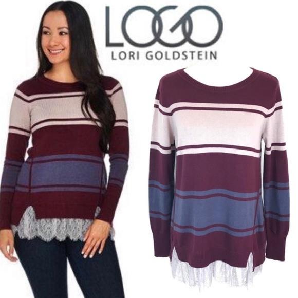 LOGO by Lori Goldstein Sweaters  a34dbeeca